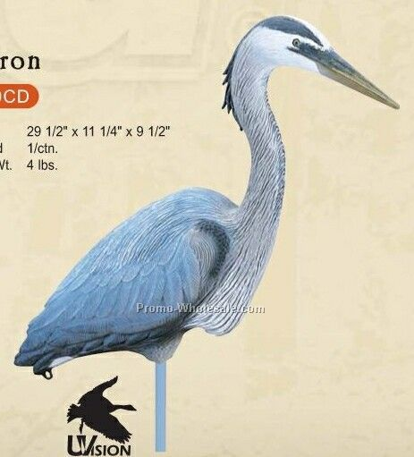 Specialty & Confidence Decoy - Heron