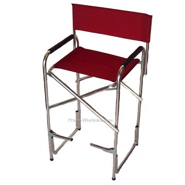 """big Daddy"" Oversized Heavy Duty Folding Director Chair Made In U"
