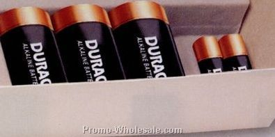 Three 3d Duracell Batteries