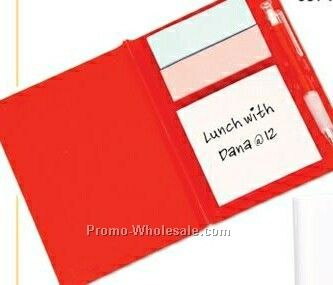 Translucent Red Memo Pad