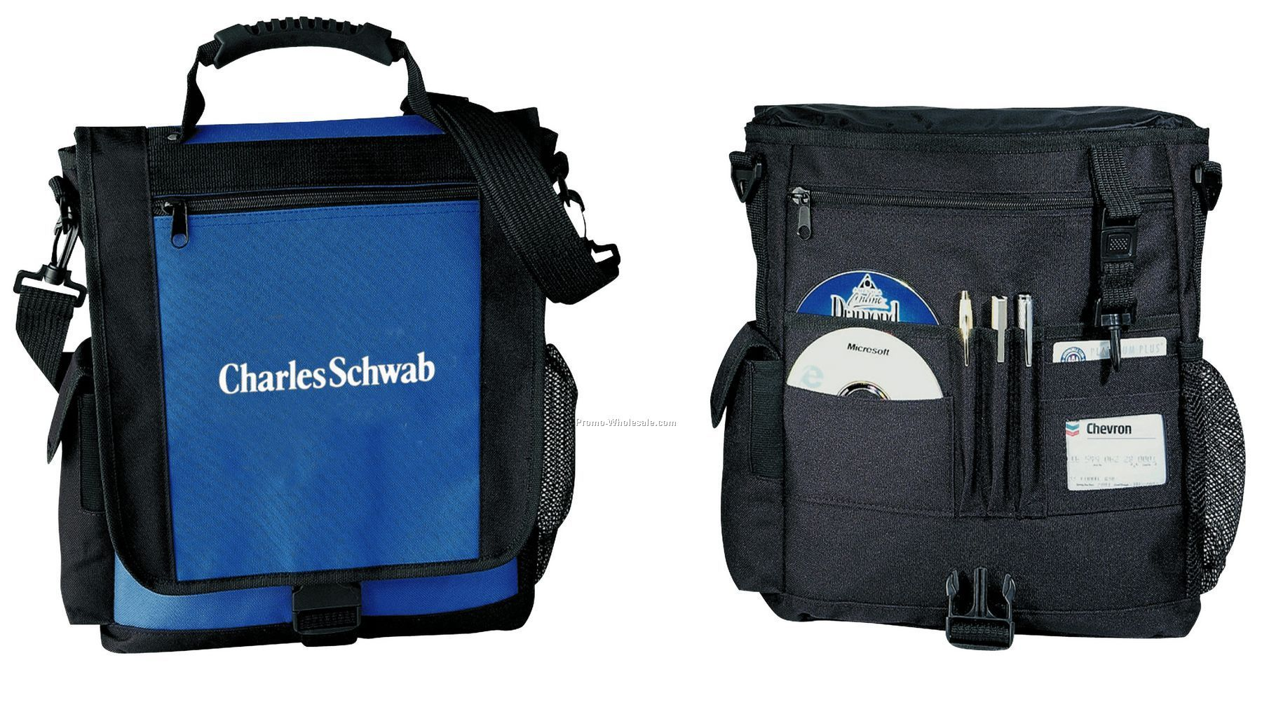 Vertical Organizer Brief Bag