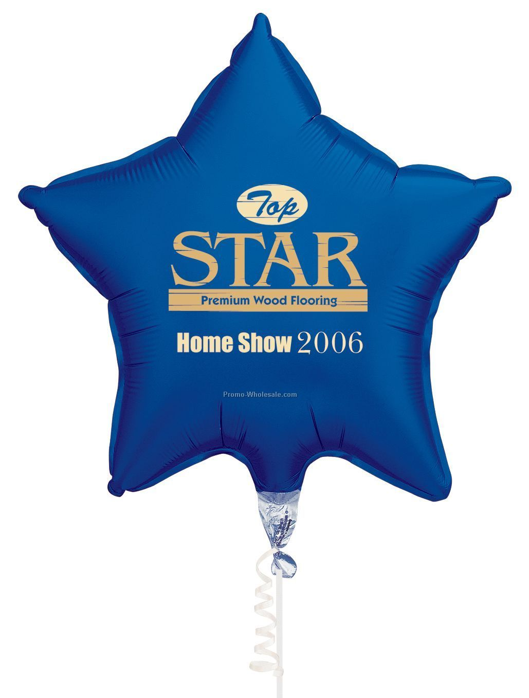"20"" Star Microfoil Balloons - (3 Color Imprint)"