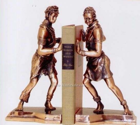 African Male Bookends