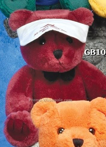 "Brite Guy Bears Maroon Red Bear (10"")"