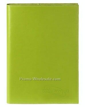 Colorplay Leather Journal W/ Refillable Perfect Bound Notebook