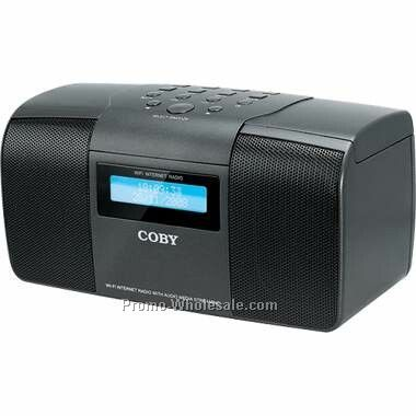 compact internet radio with wi fi fm and alarm clock wholesale china. Black Bedroom Furniture Sets. Home Design Ideas