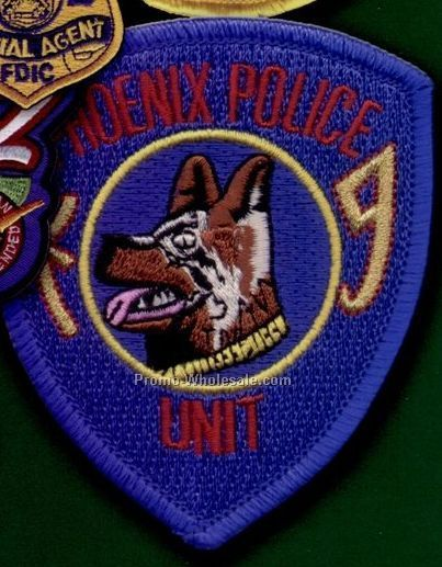 "Custom Embroidered Patches - 75% Embroidered 5"" Patch"