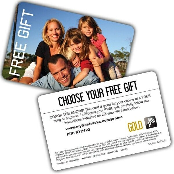 Digital Choice Gold Pre-paid Gift Card