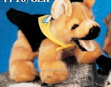 "Floppy Family German Shepherd Dog Stuffed Animal (10"")"