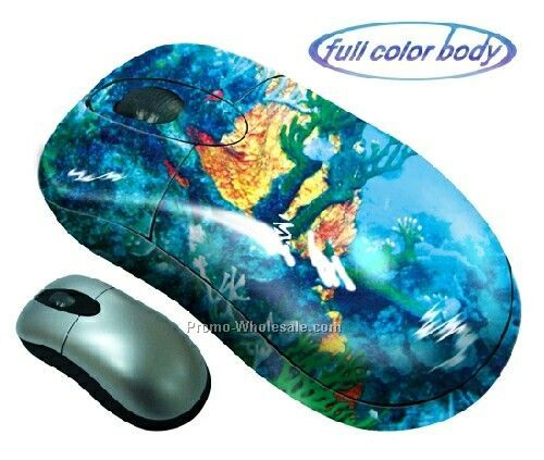 Full Color Series Mini Wireless Optical Mouse