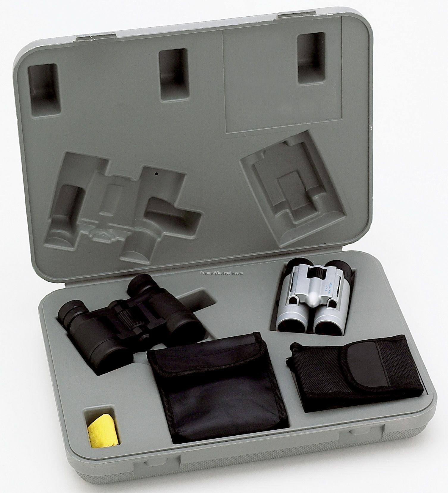 how to set up a binocular microscope