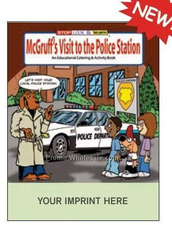 Mcgruff's Visit To The Police Station Fun Pack