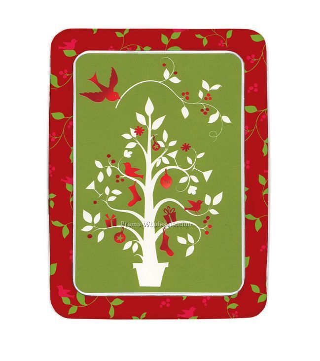 Noel Tree Holiday Tin Notecard Sets