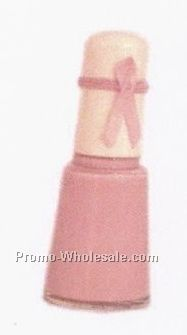 One Alice Bottle Of Nail Polish With Awareness Ribbon