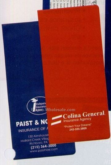 "Policy And Document Holder (4-1/2""x9-3/4"")"
