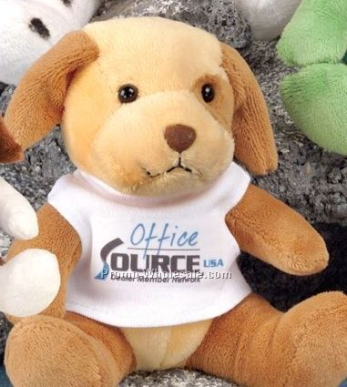 "Q-tee Collection Stuffed Dog (5"")"