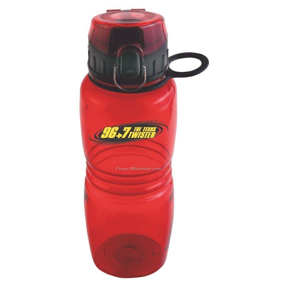 Shatter Proof Petg 18 Oz. Splash Bottle With Flip Top Lid