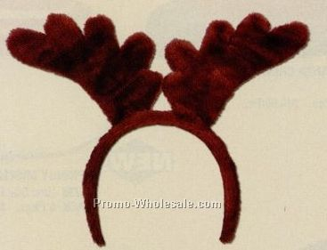 Soft Touch Reindeer Antlers Headband