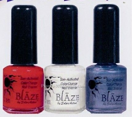 Solar Active Color Changing Blaze Nail Polish - Spirit Collection