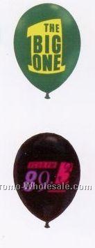 "Standard / Designer Colors Latex Balloons (11"" Round) - Imprinted"
