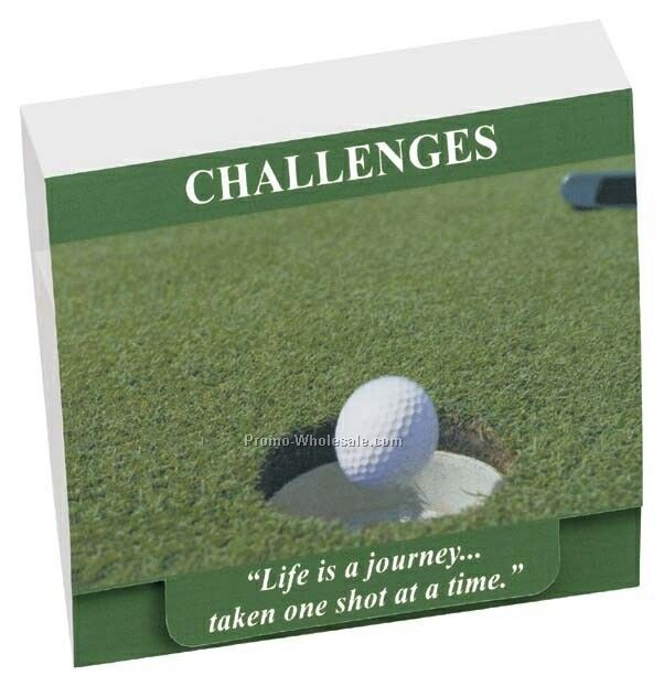 "Tee Off 4-2-1 Golf Tee Packet W/Stock Graphic & 2-3/4"" Tees"
