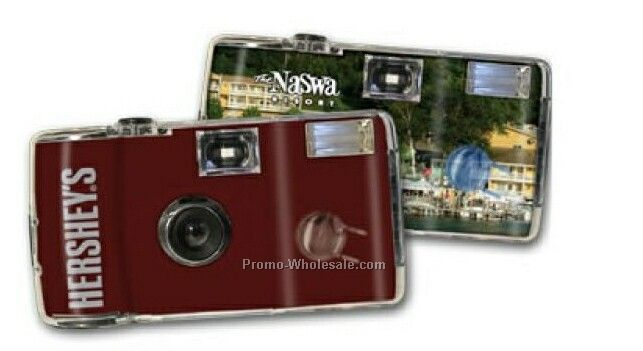 The Logo Camera W/ Crystal Clear Front