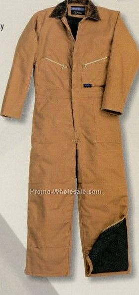 Walls Youth Insulated Coverall (4-20) - Brown