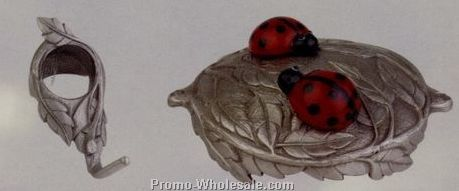 "12"" Ladybug Bird Feeder"