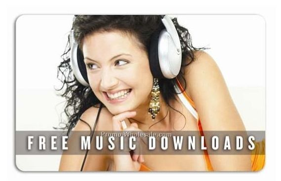 2 Songs Music Download Card