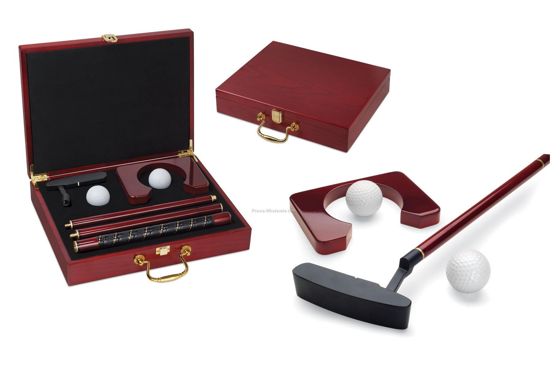 Ace Executive Putter Set In Travel Case