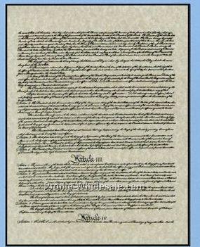"American Historical Print (Abraham Lincoln) 20""x26"""