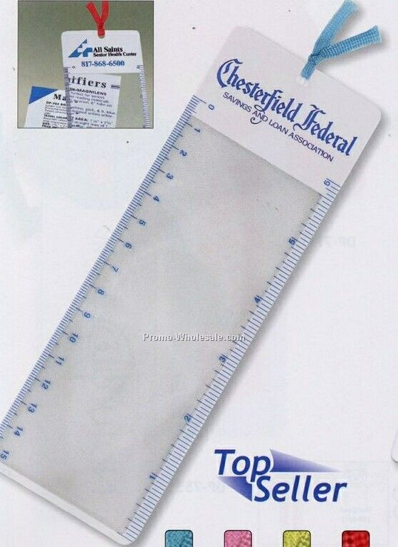 Bookmark Magnilens W/ Tassel (Standard Shipping)