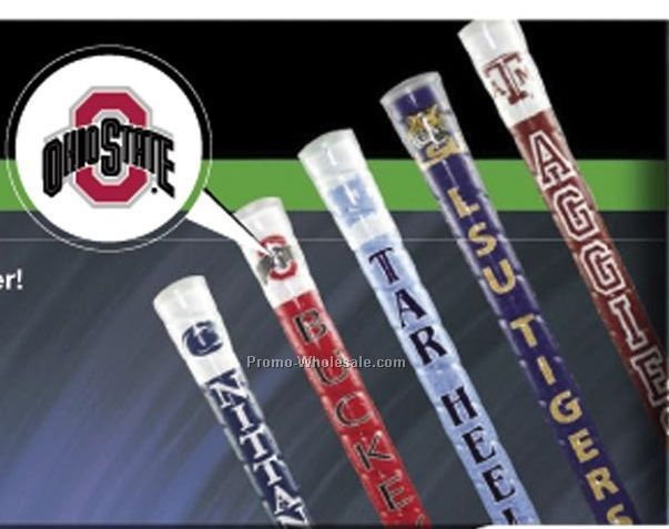 C-thru Grips The Clear Choice Adult Putter Club W/ College Team Sport Logo