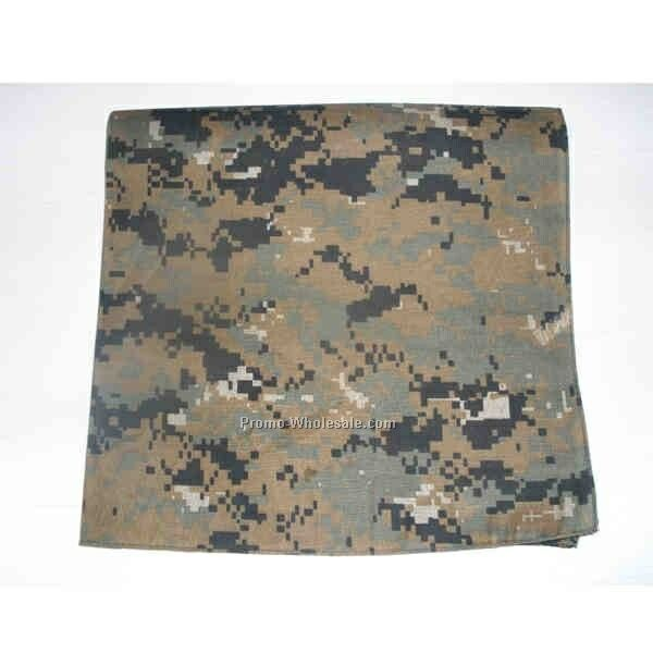 Digital Camouflage Bandanna