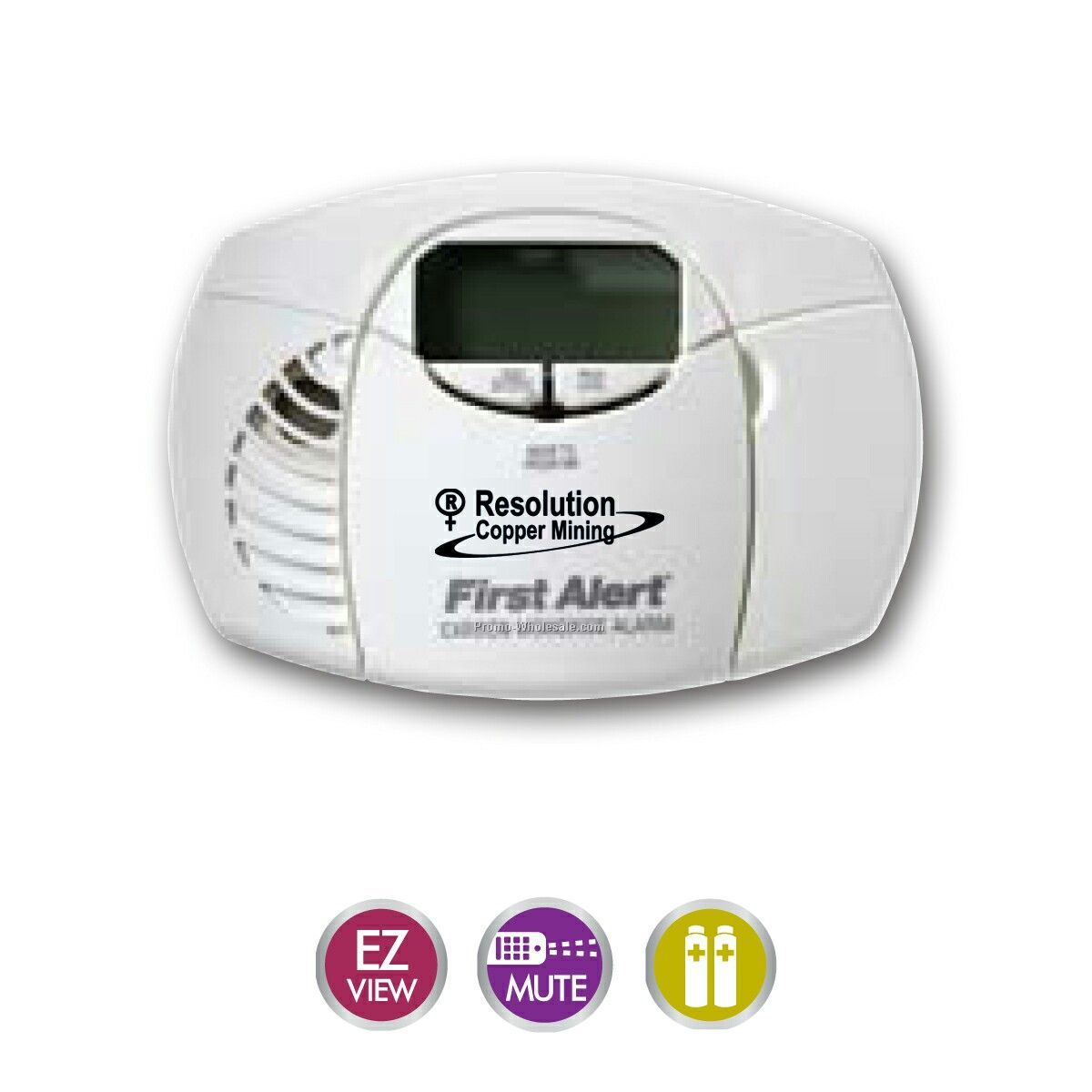 Digital Carbon Monoxide Alarms