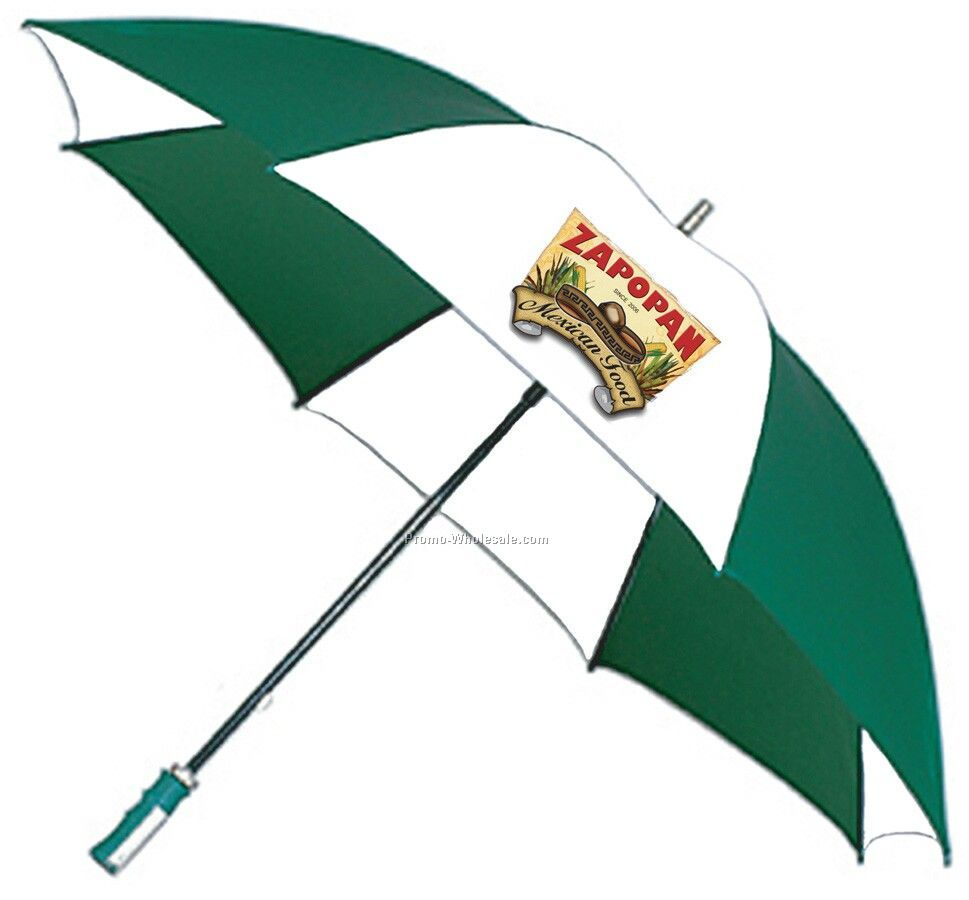 "Fiberglass Shaft Golf Umbrella (62"" Arc) With Full Color Imprint"