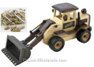 Front End Loader - Wooden - Praline Pecan 5 Oz.
