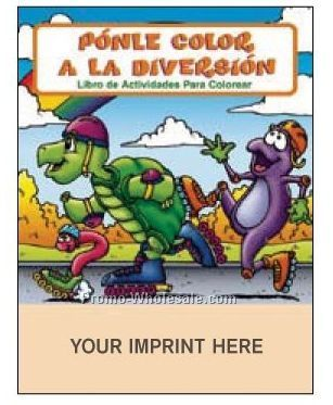 Fun To Color - Ponle Color A La Diversion Spanish Coloring Fun Pack