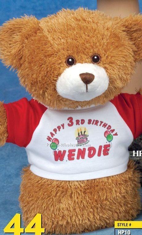 """Handy Logo Bear Puppet (10"""")"""