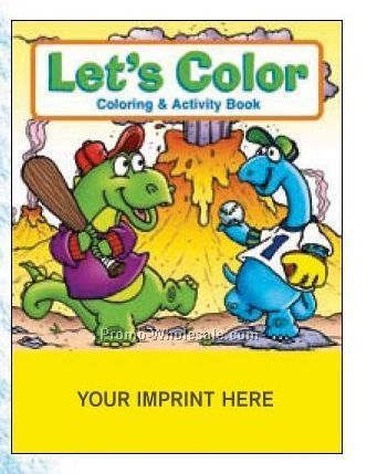Let's Color Coloring Book Fun Pack