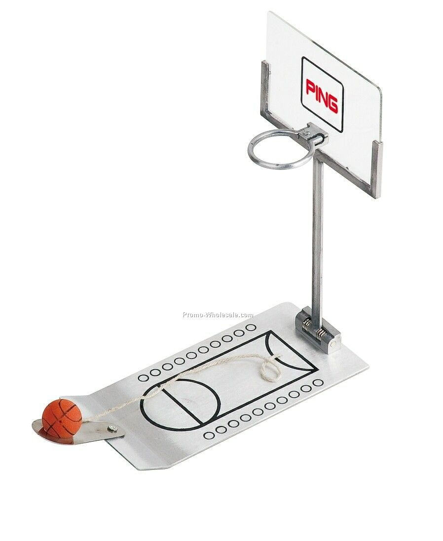 Metal Basketball Foldable Game