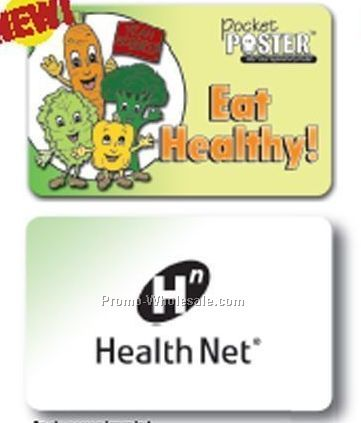 Pocket Poster - Eat Healthy