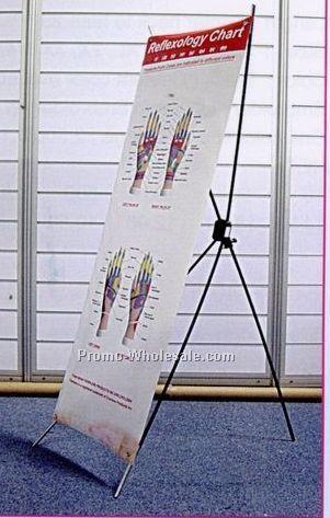 Reflexology Hands Poster & Poster Stand