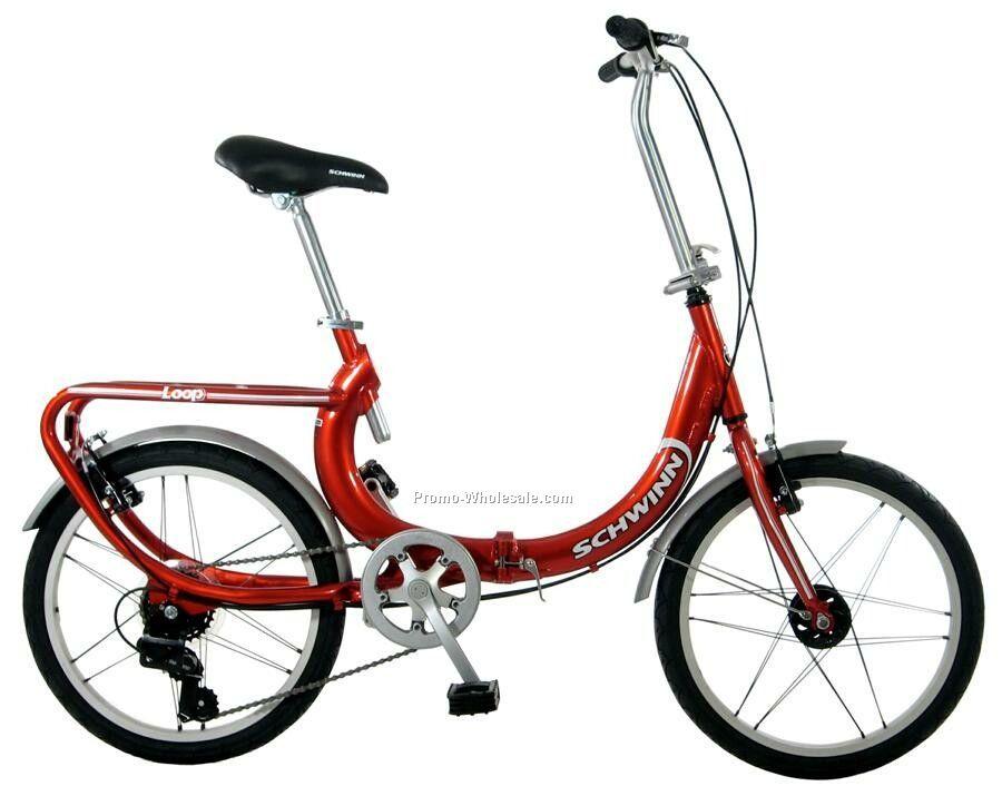 """Schwinn 20"""" Loop Unisex Bicycle"""