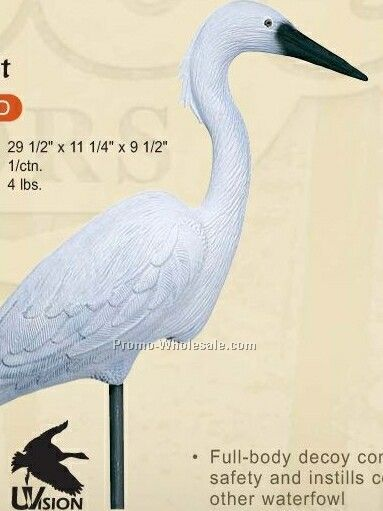 Specialty & Confidence Decoy - Egret