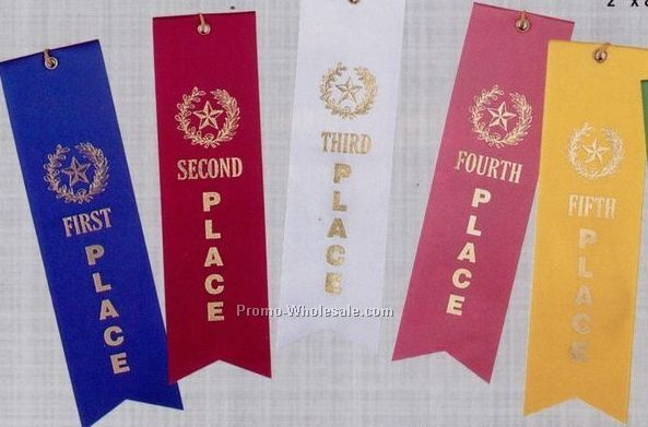 Stock Place Ribbon (Card/Eyelet & String) - Special Award