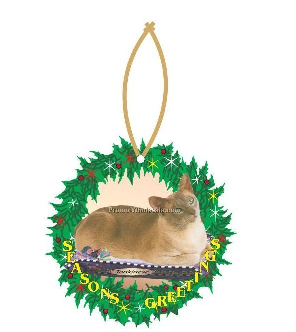 Tonkinese Cat Executive Wreath