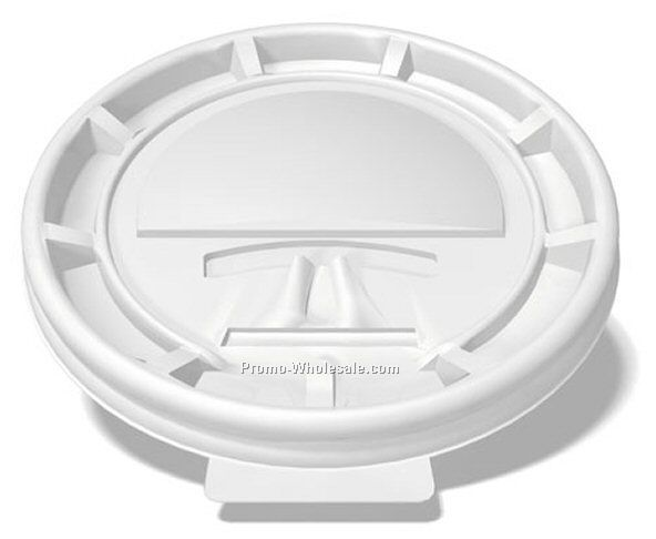 White Tear Tab Lid For 10/ 12/ 16/ 20 Oz. Cup
