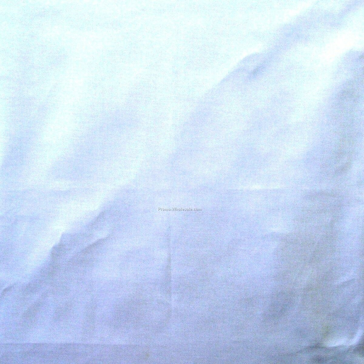 "14""x14"" Blank Solid Light Blue Imported 100% Cotton Handkerchiefs"