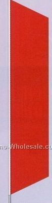 2-1/2'x12' Stock Zephyr Banner Drapes - Red